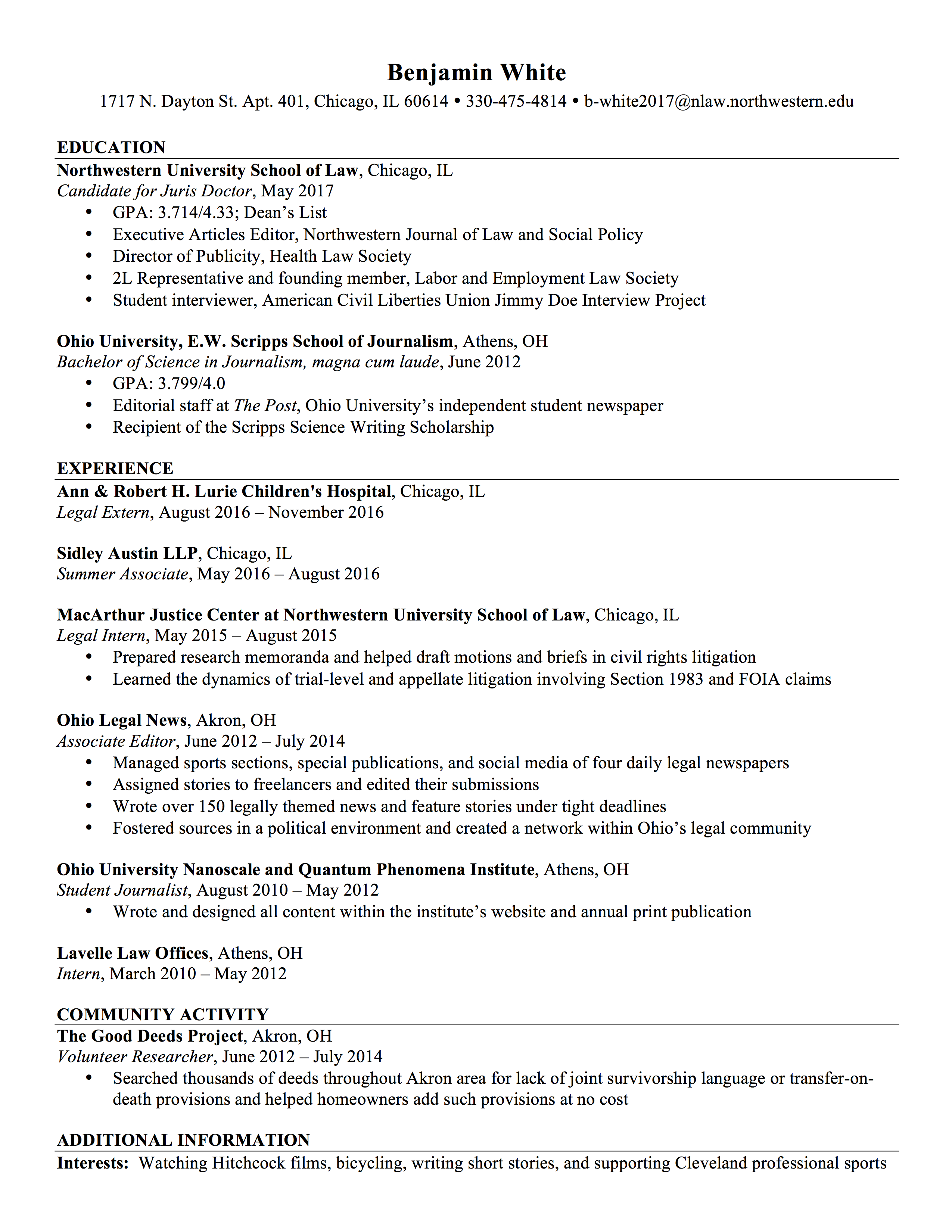 Candidate Attorney Cover Letter Image collections - Cover Letter Ideas